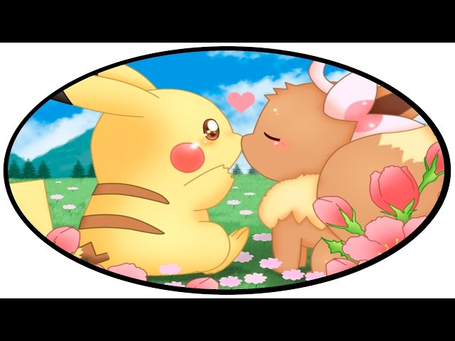 Eevee And Pikachu Kissing eevee x pikachu 3 glad you came ... Rihanna Wild Thoughts