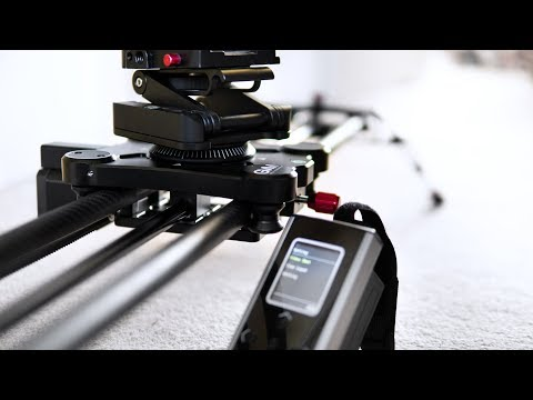 $369 for an AMAZING motorized camera slider // GVM 80QD review + tutorial