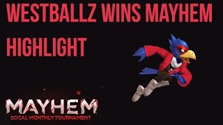 Westballz played phenomenal at Mayhem so I made a highlight video!
