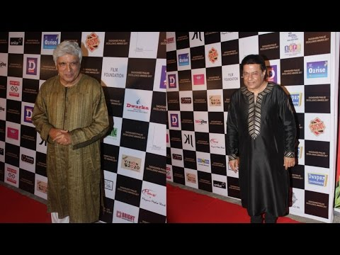 Javed Akhtar | Anup Jalota At Dadasaheb Phalke Award