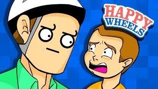 Happy Wheels: STOP WHACKING!!!