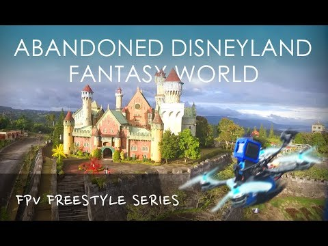 Fantasy World (Disneyland of the Philippines) Drone Freestyle Footage
