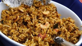 Vangibath / Brinjal Rice