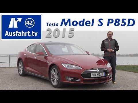 Elektroauto: Tesla Model S P85D - Fahrbericht der Probe ...