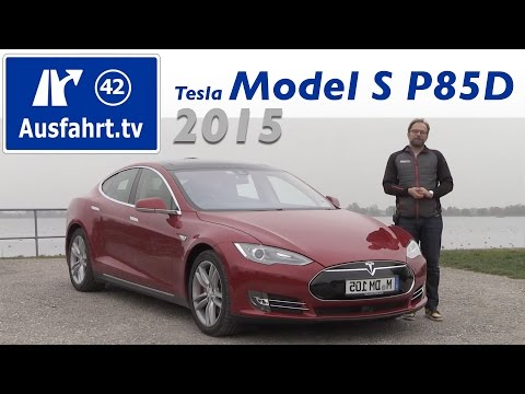 Tesla Model S P85D - Fahrbericht der Probefahrt, Test,  ...