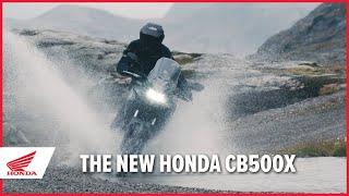 Honda CB500X - Il video