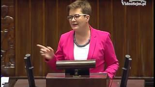 Katarzyna Lubnauer – wystąpienie z 12 lipca 2017 r