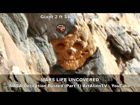 العرب اليوم - بالفيديو: جو وايت يعثر على صخرة غريبة المظهر على المريخ