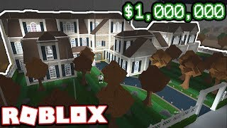 A $1,000,000 MODERN MANSION!!!   Subscriber Tours (Roblox Bloxburg)