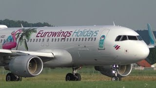Eurowings EW 6871Graz Airport - Palma de Mallorca Airport16.07.2017Departure: 19.00Arrival: 20.50Takeoff Graz Airport  GRZ  LOWGRunway 17C, 3000m x 45m AsphaltAirbus 320-214OE-IQDMSN: 7056First flight: 01.04.2016Delivery date: 11.04.2017✈ check this flight on Flightradar24.comhttps://www.flightradar24.com/flight/ew6871✈ check this plane on Airfleets.nethttp://www.airfleets.net/ficheapp/plane-a320-7056.htmLatest pictures and news also available on➤ http://www.facebook.com/aviationvideosgraz➤ http://www.twitter.com/aviation_graz➤ http://aviationvideosgraz.jimdo.com/equipment📷 Panasonic HC-V777EG-K, Velbon Videomate 638 tripod, 💿 Magix Video Deluxe 2016✈ Spotting position: Takeoff 17Cfor all spotting places visit http://aviationvideosgraz.jimdo.com/graz-airport/spotting-places/Recorded in Full HD  1920x1080 50fps#Eurowings #EW6871 #Airbus #A320*****Welcome to my YouTube channel AVIATION VIDEOS which is focused on planespotting around the world. Minimum of 4 daily uploads:1 video from my home airport Graz, Austria1 video from an international airport like Vienna, Zurich or Amsterdam1 video from an national airport like Graz or Vienna1 video of General & Business AviationFrom time to time there will be some specials like trip reports, full flight videos or tutorials.Feel free to subscribe, comment or like! If you have any questions send me an email📧 aviationvideos@gmx.at