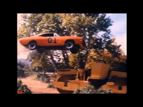 Dukes of Hazzard-General Lee jump special (with sound and in HD) part2:  All jumps from seasons 4-6. 200 subscriber special video. Season 1-3 jumps here: http://ascendents.net/?v=Of-ZRsAK6G8See my other Dukes videos too. Dukes of Hazzard is owned by Warner Bros