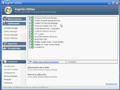 Video 1 de Argente Utilities: Análisis de Argente Utilities parte 2