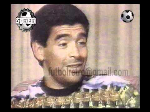 Maradona habla sobre la sancion por doping en USA1994 FUTBOL RETRO TV