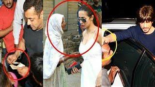Video What Bollywood Stars Do When BEGGARS Ask For Money | Salman, Shahrukh, Malaika Arora, Ranveer Singh MP3, 3GP, MP4, WEBM, AVI, FLV Maret 2018