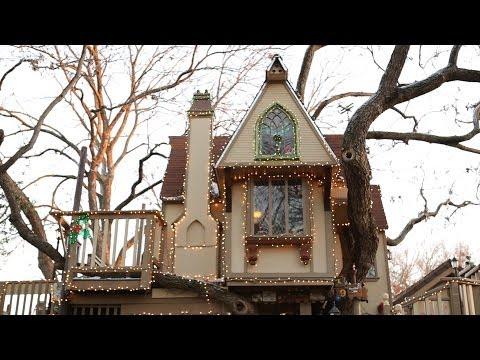 la migliore casa sull'albero!
