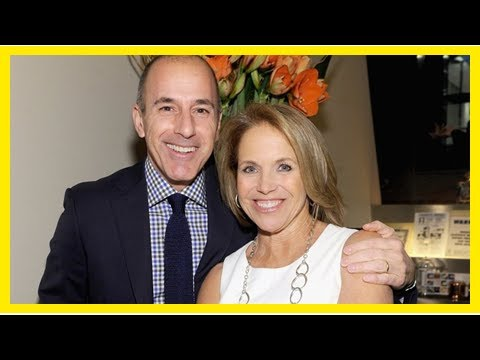 Katie Couric broke the silence about the show today's Matt Lauer shot