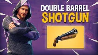NEW Double Barrel Shotgun!! - Fortnite Battle Royale Gameplay - Ninja