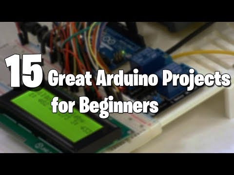 15 Great Arduino Projects for beginners