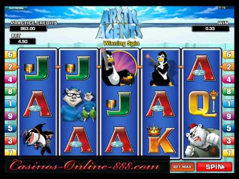 Arctic Agents Slot by Microgaming - Casinos-Online-888.com