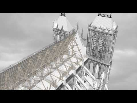 Amiens Cathedral: In Cross Section