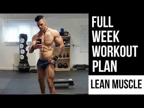 Weight loss pills - Full Week WORKOUT PLAN To LOSE FAT And GAIN MUSCLE