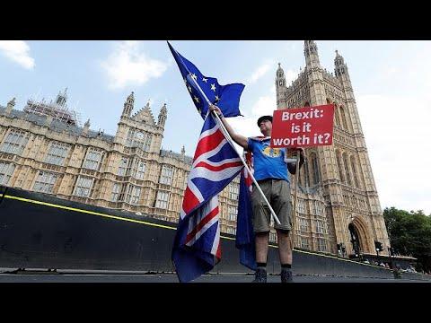Wahlkampfkampagne für Brexit