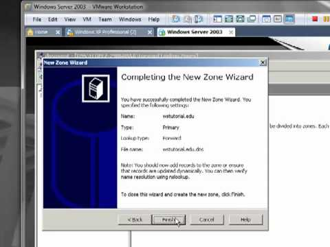 Configuracion de DNS Windows Server 2003