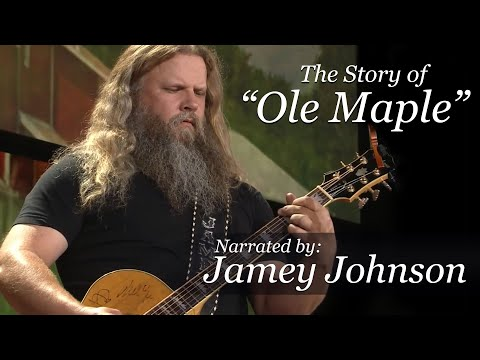 "Jamey Johnson's Guitar - The Story of ""Ole Maple"""