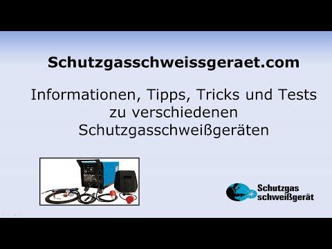 Schutzgasschweissgeraet com Informationen, Tipps und Tricks