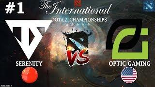 Серенити смогут УДИВИТЬ еще?  | Serenity vs OpTic #1 (BO3) | The International 2018