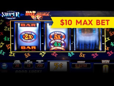 Hot Roll Super Times Pay Slot – BIG WIN, SHORT & SWEET!