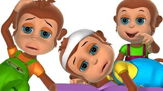 Five Little Monkeys, Babies and Ducks + More  Baby Songs and Counting Nursery Rhymes for Children.