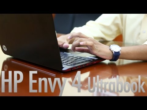 HP Envy 4 Ultrabook : Video Review