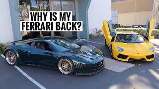 My Lamborghini Aventador VS my Ferrari GT3 458! *FINAL GOODBYE* by TJ Hunt