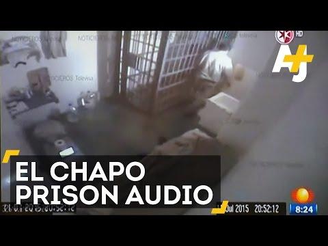 El Chapo's Prison Escape Video Released With Audio