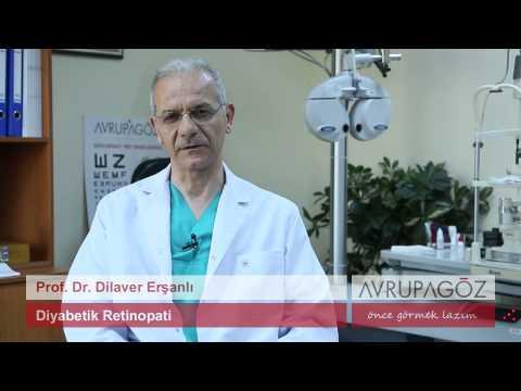 Prof. Dr. Dilaver Erşanlı Diyabetik Retinopati'yi Anlatıyor