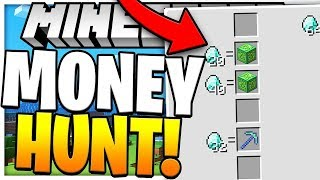 BRAND NEW 102 LUCKY BLOCK MONEY HUNT - MODDED MINECRAFT LUCKY BLOCK