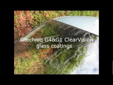 Gtechniq G4&G1 ClearVision Smart Glass coatings