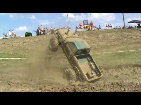 See what 1000 horsepower does at the Spencer County Mud Bog event!