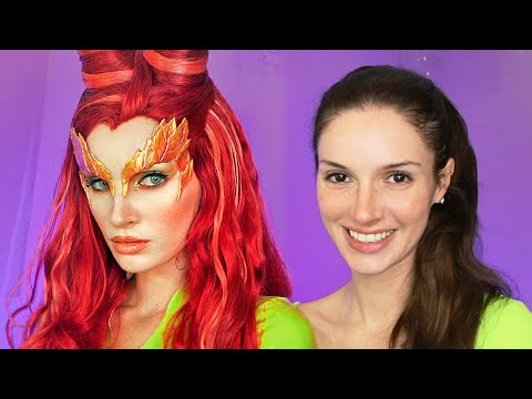 Poison Ivy Makeup Transformation