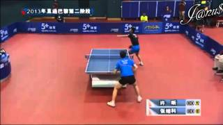 2013 China Trials For WTTC: XU Xin - ZHANG Jike [Full* Match/Short Form]