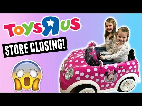 TOYS R US IS CLOSING FOREVER!