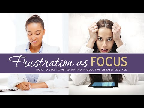 Focus Vs Frustration: Building Your Best Online Business
