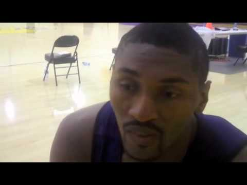 Ron Artest, on playing against the Houston Rockets