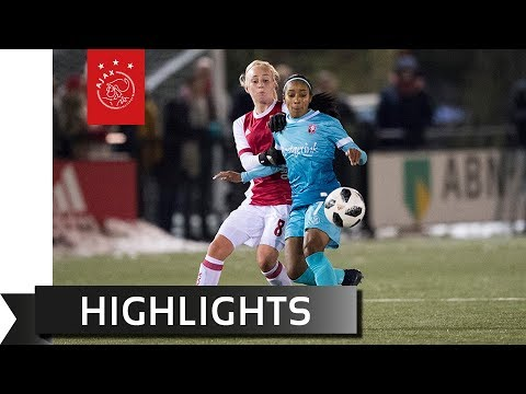 Highlights Ajax Vrouwen - FC Twente