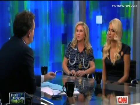"""Paris Hilton """"Piers Morgan"""" Part 2/3"""