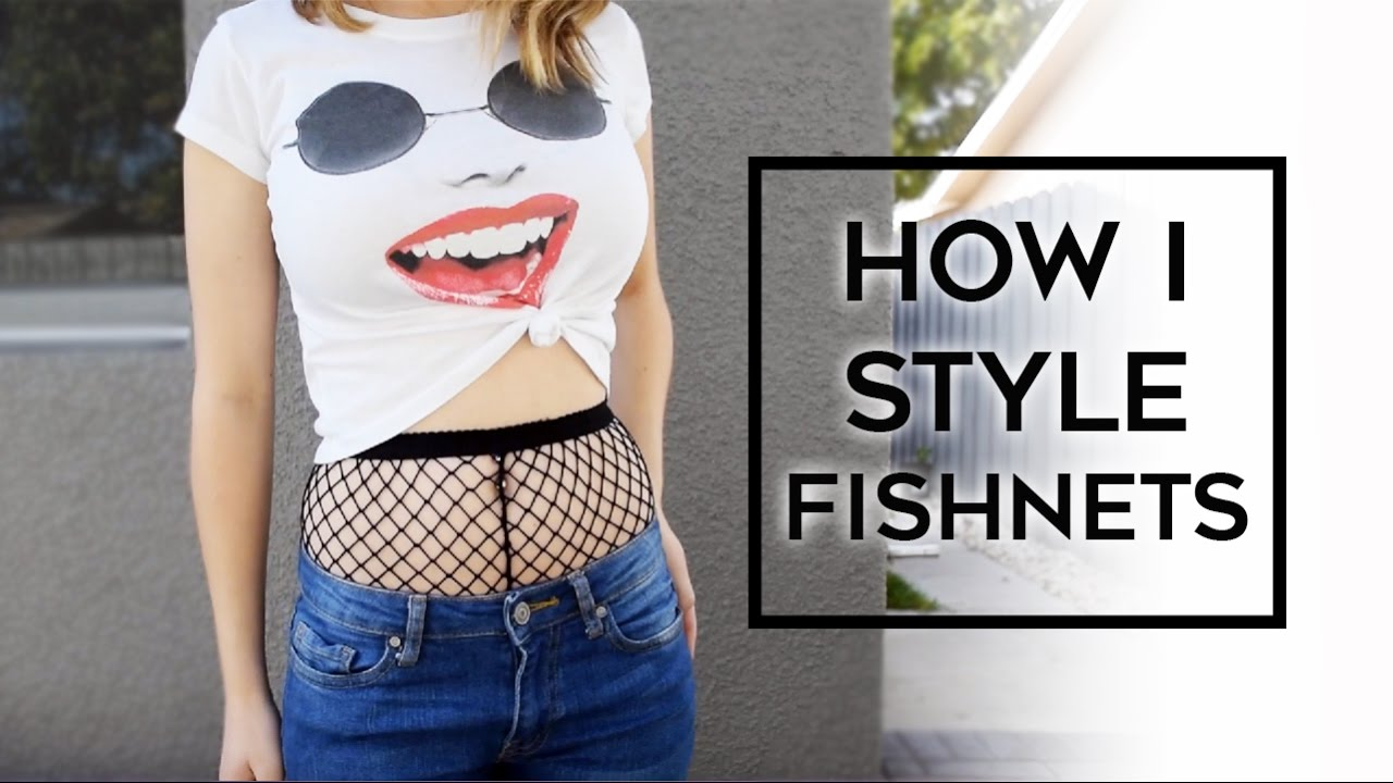 How I Style - Fishnets || STYLE by JD