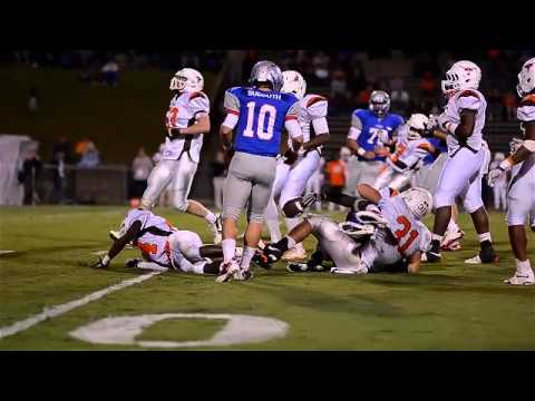 sj_preps - Friday night football fun with Mauldin at Byrnes High School in Duncan, 9-30-2011.