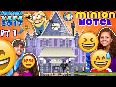 MINIONS HOTEL TOUR! Coolest Room Ever!! Savage Dad @ Universal Studios Resort (FUNnel Summer FL #1)