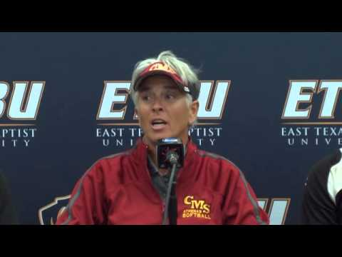 Post Game Interview: Softball Day 2 of NCAA Super Regional